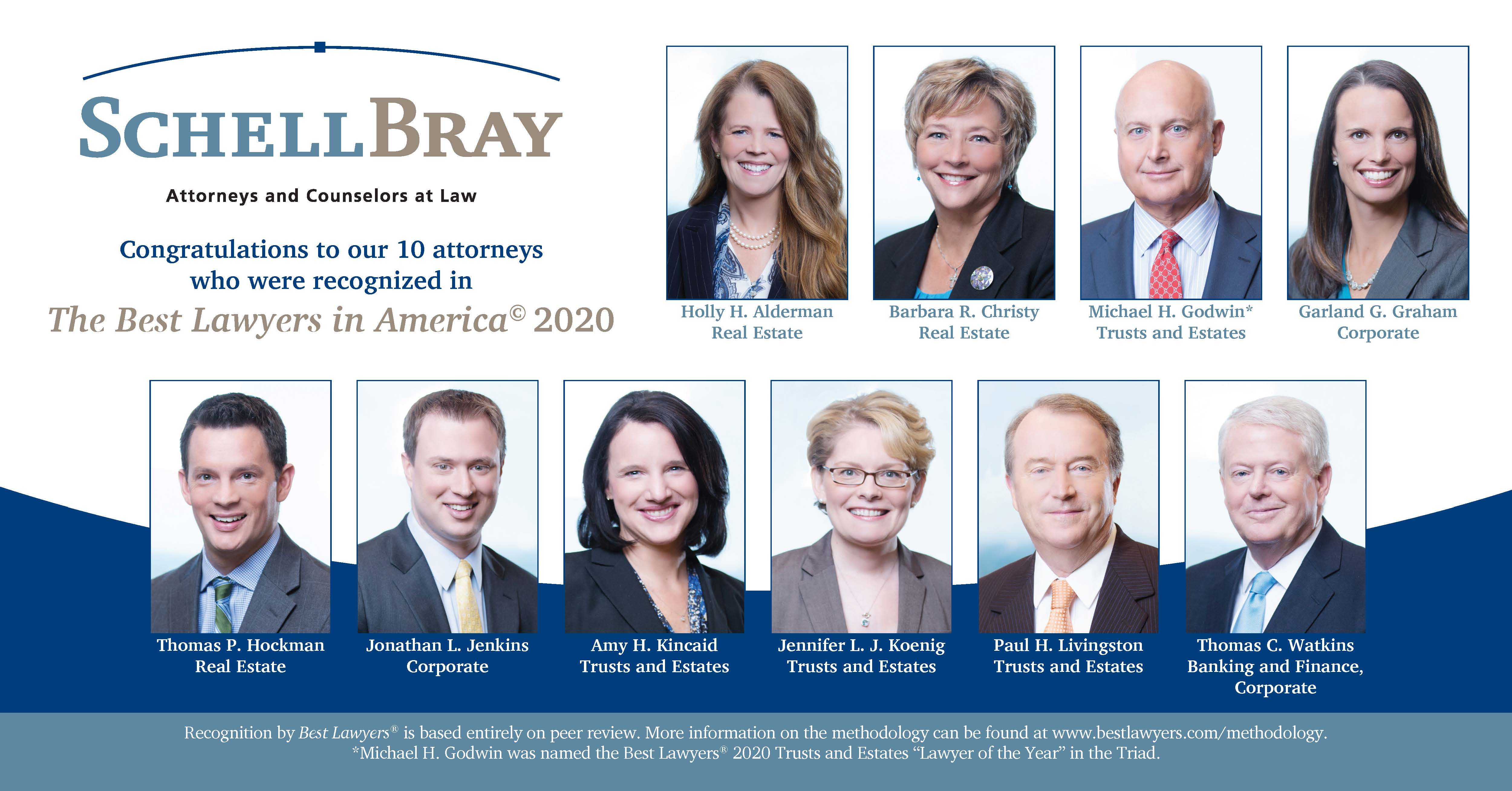 Schell Bray Best Lawyers 2020